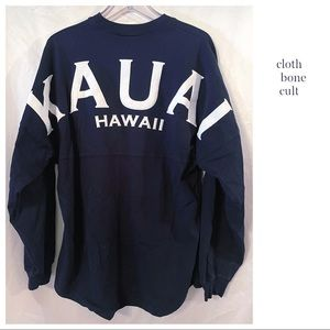 "Official SPIRIT JERSEY ""Kauai Hawaii"" SHIRT"